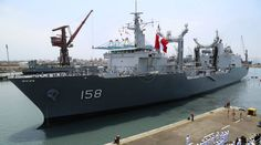 PERÚ - Base naval - BAP Tacna, la nave más grande de la Marina de Guerra -Jhabich