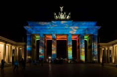 Brandenburger Tor /// Brandenburg Gate @ Berlin FESTIVAL OF LIGHTS 2012. 3D Videomapping. Presented by Wohnungsbaugenossenschaften Berlin. Produced by Zander & Partner Event-Marketing (c) Festival of Lights / Christian Kruppa  #Berlin #FestivalofLights #BrandenburgerTor #BrandenburgGate #3DMapping