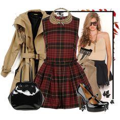 McQ Tartan dress  I love all of this!