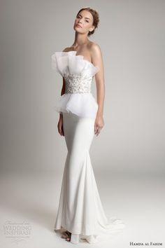 hamda al fahim fall 2012 2013 wedding dress