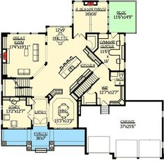 House plans dream house plans, my dream home, house floor plans The Plan, How To Plan, Dream House Plans, House Floor Plans, My Dream Home, Dream Homes, Casas The Sims 4, Craftsman House Plans, Walk In Pantry