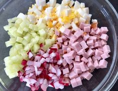 Kolorowa sałatka makaronowa - Blog z apetytem Orzo, Cobb Salad, Grilling, Cabbage, Vegetables, Blog, Diet, Recipes, Vegetable Recipes