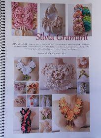 Silvia Gramani Crochê: Colar de Pérolas