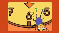 Digitaal prentenboek - Opa Klokspin Leuk filmpje bij de start van het klokkijken I Love School, Teaching Time, Childcare, Kids Playing, Alice In Wonderland, How To Memorize Things, Family Guy, Winter, Fictional Characters