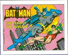 Comic Art, Comic Books, Batman Tv Series, Batman And Superman, Bat Family, Penguins, Geek Stuff, Superhero, Comics