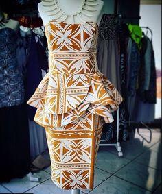 Samoan Designs, Polynesian Designs, Island Wear, Island Outfit, Ethnic Fashion, African Fashion, Samoan Dress, Island Style Clothing, Tropical Dress