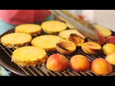 Turn fruit into a fabulous dessert by grilling it. You can use grilled fruit for anything actually. Skewer it, dip it or turn it into a cobbler.