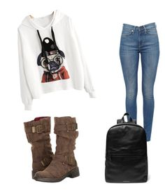 """outfit for school"" by mursitsanna on Polyvore featuring Rocket Dog"