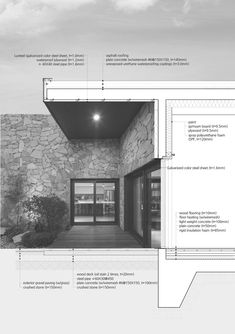 Gallery of The Layers / OBBA - 18 - Detailing - bildzeichnen Coupes Architecture, Detail Architecture, Architecture Graphics, Architecture Drawings, Art And Architecture, Sections Architecture, Computer Architecture, London Architecture, Architecture Diagrams