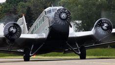 Crosswind Departure of a World War II plane - Junkers JU-52 (HD)