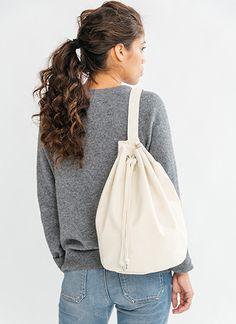 Baggu Black Canvas Sling Bag