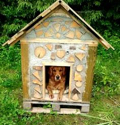 Cute, I would like to try cordwood for a playhouse first