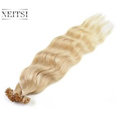 "Neitsi 20"" 50g 20pcs/lot Human Hair Indian Nail U Tip Hair Extension Natural Wave ( #HairCare"