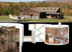 SiloHome: Cold War Era Missile Silo Transformed Into Luxurious Underground House in Upstate New York Underground Living, Underground Shelter, Underground Homes, Silo House, My House, Home Design Software, Survival Shelter, Unusual Homes, Upstate New York