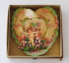 Antique Valentine greeting card