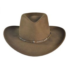 MADE IN THE USA Mountain Sky Crushable Outback Hat