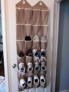 Zo je schoenen opbergen, waarom heb ik daar nooit aan gedacht?