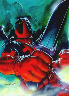 #Deadpool #Fan #Art. (Deadpool) By: DaveDeVries. [THANK U 4 PINNING!!]