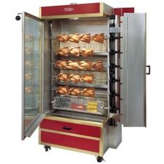 Old Hickory 35 Chicken Commercial Rotisserie Oven Machine Gas Chicken Bar, Sides For Chicken, Chicken Roaster, Chicken Store, Chicken Houses, Hickory Bbq, Old Hickory, Gas Pizza Oven, Rotisserie Oven