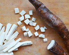 Five steps to prepping cassava (yuca)