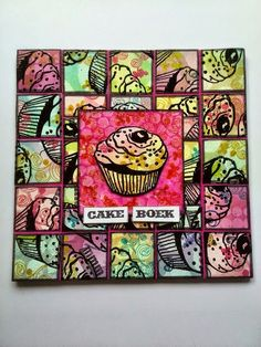 Art Journey Design-team: Cake Boek / cake book