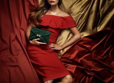 Red, Green & Gold <3 Leowulff Autumn Winter 2017 Campaign. #leowulff