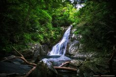 Hiji Waterfalls: Okinawa, Japan. I'll take my kids this 2nd time here, when we go camping at Okuma.