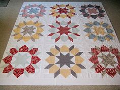 Swoon quilt blogged @ http://craftingdotdotdot.blogspot.com/2011/10/wip-wednesday-and-giveaway-winner.html.