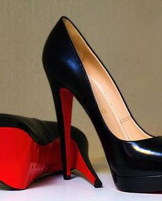 If you want a pair of Louboutins, save up! Don't buy a rip off.