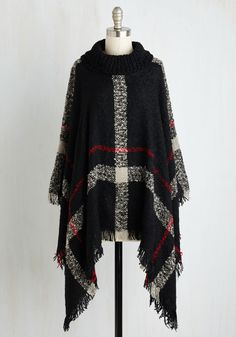 Whistle While You Workshop Poncho