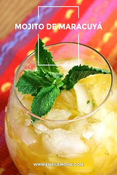 Whenever carafe of home brew is feeling fat in the doggy times of summer months, look for the minty virtuousness of a fresh mojito to save the day. Fruit Mojito Recipe, Passion Fruit Mojito, Party Drinks, Fun Drinks, Summer Drinks, Bebida Mojito, Titos Vodka Recipes, My Recipes, Healthy Recipes
