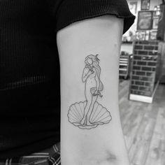 Line Tattoos, Sexy Tattoos, Black Tattoos, Body Art Tattoos, Small Tattoos, Manga Tattoo, Poke Tattoo, Venus Tattoo, Psychedelic Tattoos