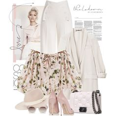 A fashion look from November 2015 featuring Gucci blazers, Derek Lam pants and Versace pumps. Browse and shop related looks.