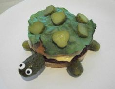 I know someone who will live this!! Turtles and pickles, who could ask for anything more?