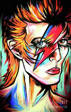 Ziggy Stardust by Amy Belonio