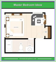 master bedroom floor plan with measurements-#master #bedroom #floor #plan #with #measurements Please Click Link To Find More Reference,,, ENJOY!! Master Suite Floor Plan, Master Bedroom Plans, Master Bedroom Bathroom, Bedroom Floor Plans, Small Room Bedroom, House Floor Plans, Bathroom Closet, Dorm Room, Bedroom Ideas For Teen Girls Tumblr