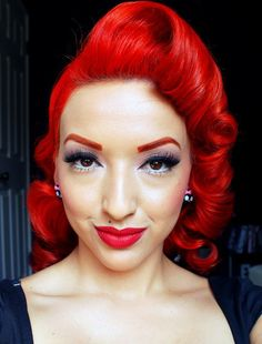 Pin-up Doll Ashley Marie Gives Hair Care For Advice For Damaged Hair