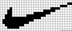 Easy Perler Bead Patterns, Perler Bead Templates, Bead Loom Patterns, Beading Patterns, Knitting Patterns For Dogs, Knitting Charts, Graph Paper Drawings, Modele Pixel Art, Pixel Drawing