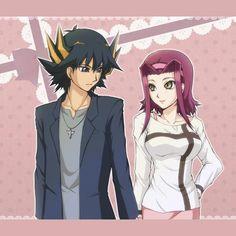 Yusei and Aki Anime Love Couple, Cute Anime Couples, Best Couple, Yu Gi Oh 5d's, Yo Gi Oh, Arnold And Helga, Im Going Crazy, Ghost Rider, Jojo's Bizarre Adventure