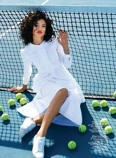 """Game.Set.Match"" Brianna by Kiki Lee for Stylist Arabia March 2015"