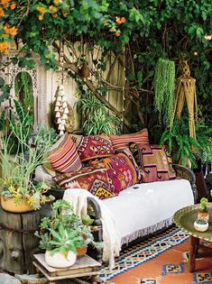 Traditional Home Remodel Setting intentions bohemian garden space. Home Remodel Setting intentions bohemian garden space. Bohemian House, Bohemian Patio, Bohemian Interior, Bohemian Decor, Boho Gypsy, Bohemian Design, Bohemian Garden Ideas, French Bohemian, Boho Chic