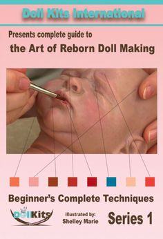 http://macphersoncrafts.com  Being a certified Genesis artist and expert teacher for years, Shelley Marie's guidance lets you learn with confidence, even if it is your very first doll. Her easy to follow yet detailed techniques guide you in creating the lifelike appearance of a real newborn baby! In this 3.5 hour video, Shelley Marie covers everything from brush care to painting all the details, including hair.