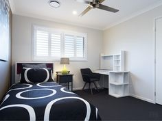 Bedroom Louvre Windows, Window Design, Shutters, Homes, Contemporary, Rugs, Bedroom, Home Decor