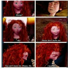 Merida can't lose him, not when she's just realized she loves him. Disney And More, Disney Magic, Disney Movies, Disney Pixar, Dreamworks Animation, Disney And Dreamworks, Disney Animation, Im A Princess, Princess Merida
