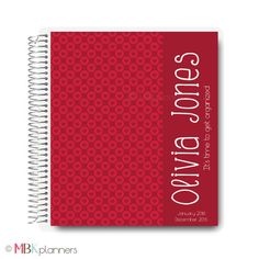 Interchangeable Valentines Planner Cover IC25 by MBKplanners