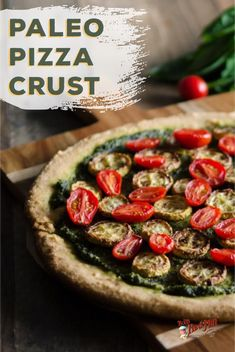 This Paleo pizza crust is one of our most loved recipes! Perfect for beginners to a paleo diet this crust is easy to make and tastes just like traditional pizza crust! Paleo Pizza Crust, Paleo Recipes Easy, Paleo Breakfast, Paleo Dessert, Healthy Fats, Paleo Diet, Whole30, Clean Eating, Traditional