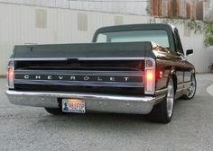 Backside of 1972 Chevy Cheyenne Super