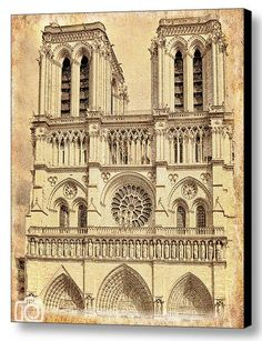 Notre Dame Wall Art paris inspired ribbon topiary
