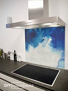 Blue Watercolour Printed Glass Splashback 60cm x 75cm (includes free adhesive) DIY Splashbacks http://www.amazon.co.uk/dp/B00U5ZS4UI/ref=cm_sw_r_pi_dp_VAUEvb0AGMP8F