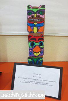 Lots of ideas for Northwest Native American art projects Teaching Social Studies, Teaching Art, Teaching Ideas, American Indian Art, Native American Art, Touching Spirit Bear, Native American Projects, 5th Grade Art, Arts Integration